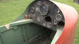 G-APNZ  instrument  panel. Condition as recovered from Headcorn Aerodrome UK (2013)